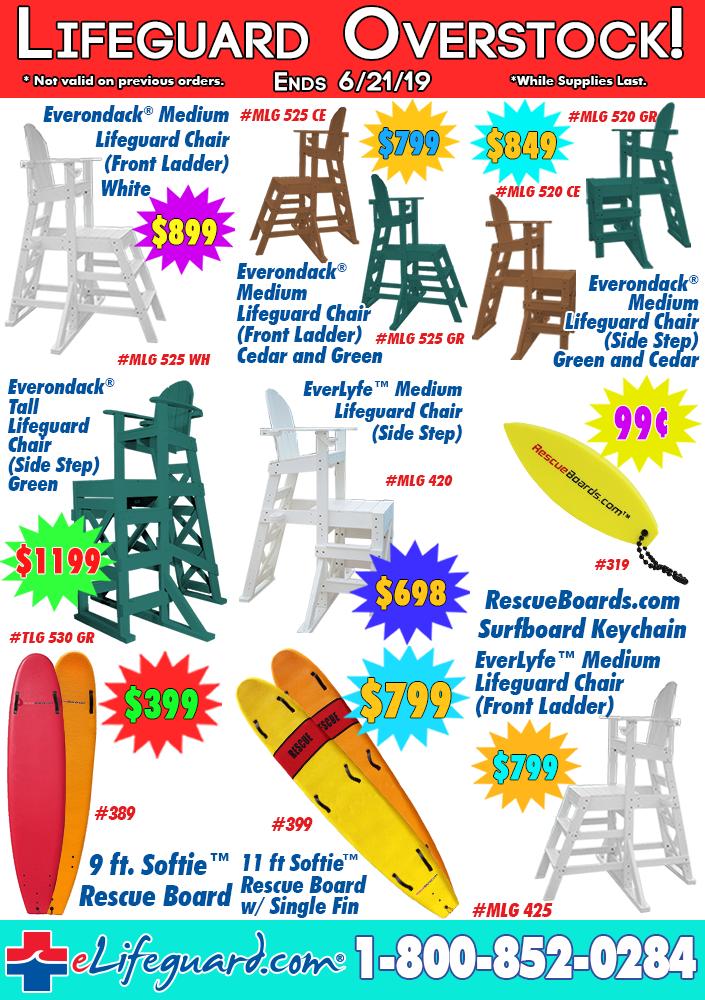 Lifeguard Overstock Sale