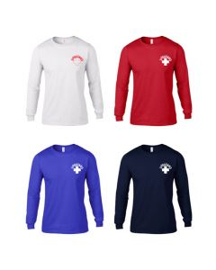 Front of Long Sleeve Lifeguard Rash Shirts in Various Colors