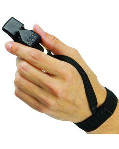 Wrist Flex Lanyard on a Fox40 Whistle