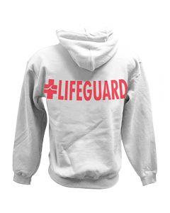 Back of the eLifeguard™ Hoodie™ Sweatshirt