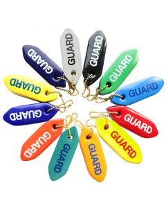 Mini Rescue Tube Key Chains in Various Colors