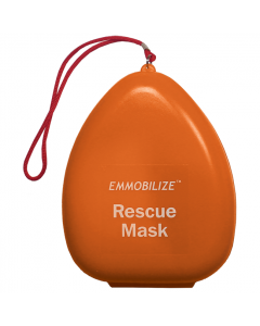 Pocket Mask with O² Inlet