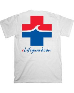 Back of the eLifeguard™ T-Shirt with Large Logo
