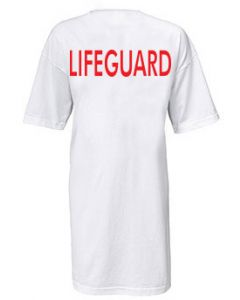Lifeguard Cover-up T-Shirt