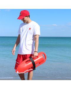 Lifeguard Aged Look Cap Worn At Beach
