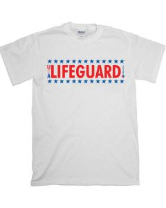 Front of the USA Lifeguard T-Shirt