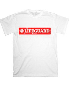 Front of the Aged Lifeguard T-Shirt - Short Sleeve