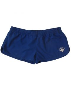 Front of the Lifeguard Shorties™ in Navy Blue