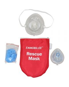 EMMOBILIZE™ Rescue Mask w/ Pouch Contents