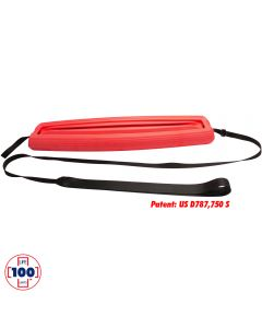 LIFE™ Patrol Rescue Tube in Lifeguard Red