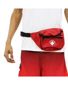 3 Pocket Lifeguard Hip Pack in Lifeguard Red