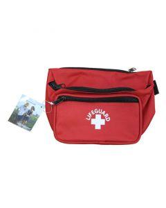 3 Pocket Hip Pack in Red