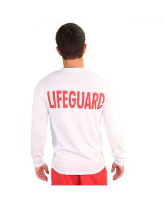Lifeguard T-Shirt - Long Sleeve Back