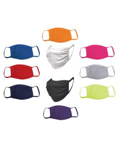 Washable Cotton Face Mask in Various Colors