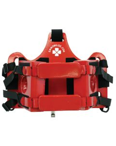 Child Head Immobilizer in Lifeguard Red