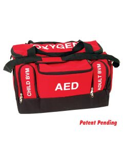 Front of the Lifeguard First Responder Bag in Lifeguard Red