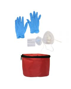 Rescue Mask w/ Bag - Adult (with O2 inlet) and Infant Mask