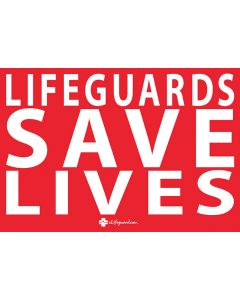 Mini Lifeguards Save Lives Bumper Sticker