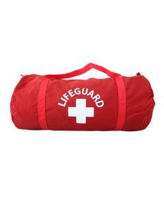 Small Lifeguard Duffle in Lifeguard Red™ With White Lifeguard Logo