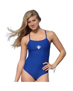 Front of the Thin Strap Lifeguard Proback Royal Blue