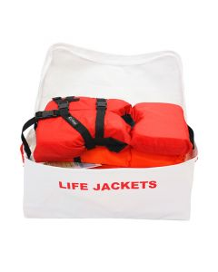 Life Vest Storage Bag (Holds 4) (Open)