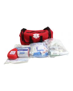 First Responder Bag with First Aid Kit display