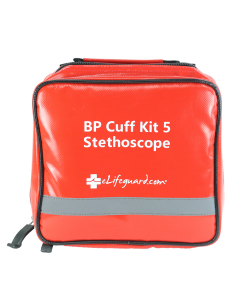 Blood Pressure Multi-Cuff Kit - XL Gauge and Stethoscope (Front)