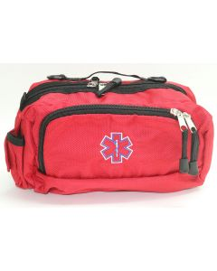 Lifeguard Red Deluxe First Aid Fanny Pack Front
