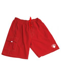 "Lifeguard Red Lifeguard ""Standard"" Board Short"