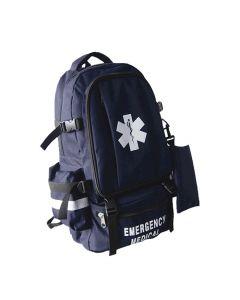 Navy Large Medical Backpack Front