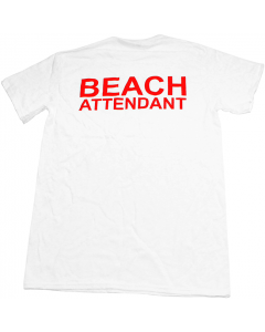 Beach Attendant T-Shirt Back