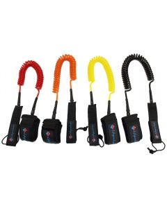 LIFE™ Tube Coil Leash (Ankle Strap) Multiple Colors