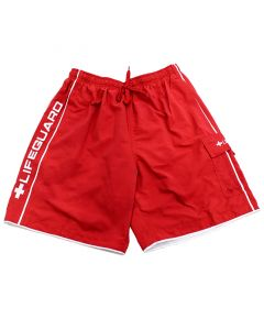 Lifeguard Red Lifeguard Pipe™ Board Short Front