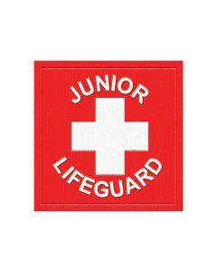Lifeguard Red Jr. Lifeguard Patch