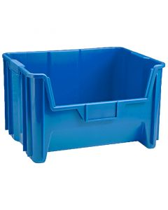 Blue Supplies Storage Bin