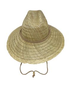 Lifeguard Hat Front Brown Strap