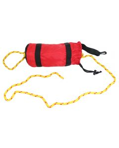 50' Rescue Throw Bag in Lifeguard Red