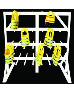 everondack life vest rack large