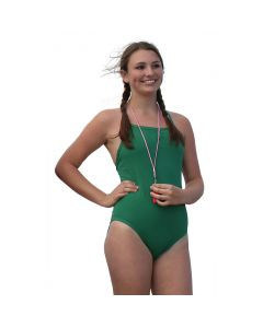 Front of the Thin Strap Lifeguard Proback Green