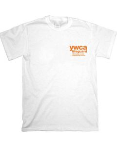 Front of the ywca Lifeguard T-Shirt - Short Sleeve