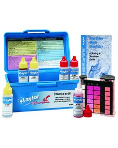 Blue Case and Contents of the Taylor 2000 Starter™ Test Kit