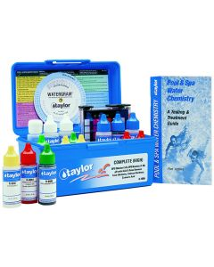 Blue Case and Contents of Taylor 2005 Complete™ Test Kit