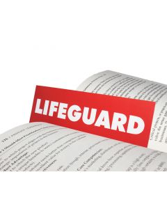 Lifeguard Bookmark (Red Side)
