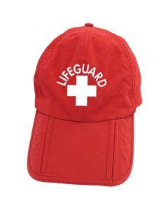 Folding Lifeguard Cap Front