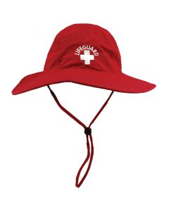 Wide Brimmed Lifeguard Sun Hat Front