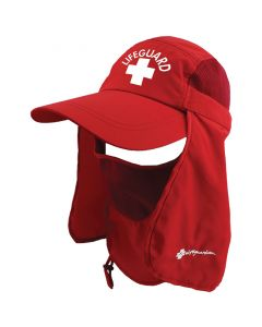 Front of the Multi-Function Lifeguard Sun Cap