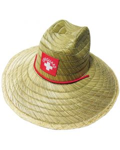 Lifeguard Straw Hat Front