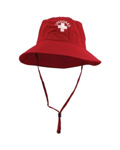 Lifeguard Red Lifeguard Bucket Hat Front