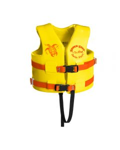 Front of Yellow USCG Child Super•Soft® Vest