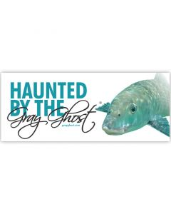 Haunted By the Gray Ghost - Bumper Sticker